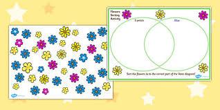 venn diagram flower sorting activity venn diagram venn