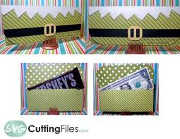money holder svg cutting file