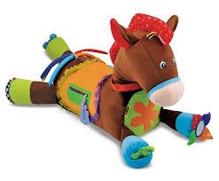 doug amazon com melissa u0026 doug giddy up and play baby activity toy