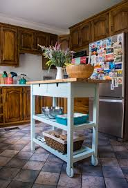 does ikea kitchen islands refinishing an ikea kitchen island eclectic spark
