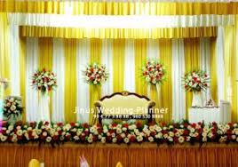 christian wedding planner christian marriage stage decoration photos christian wedding stage