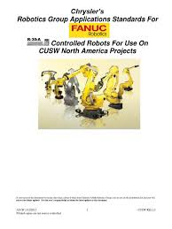 chrysler cusw fanuc robot standard rel 1 3 input output bit