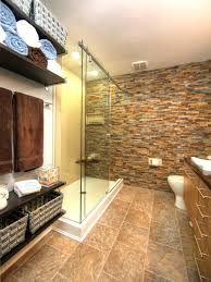 hgtv master bathroom designs photos hgtv master bathroom with stacked wall and open