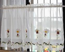 24 Inch Kitchen Curtains 24 Inch Kitchen Curtains Diy Applique Kitchen Curtains Tiers Or