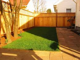 backyard fence designs and styles