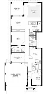 best 25 narrow lot house plans ideas on pinterest within beach 3