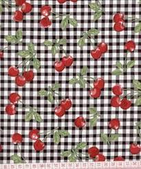 Cherry Kitchen Curtains by Red Cherry Squares Kitchen Area Rug Kitsch U0026 Kitchen Thursday