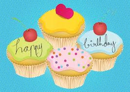 Birthday Card Ai Happy Birthday Card Free Vector In Adobe Illustrator Ai Ai