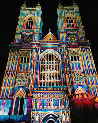 san fernando cathedral light show a lit up westminster abbey in london tonight travel