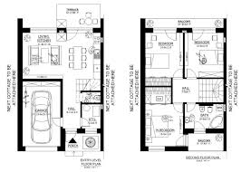 Twin House Plans Idea Small House Floor Plans Under 1000 Sq Ft Best House Design