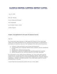 sample cover letter for resume customer service resume for your
