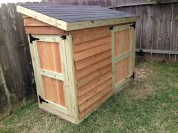 ana white lawnmower shed diy projects