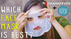 korean sheet masks rubber masks u0026 wash off masks which is the