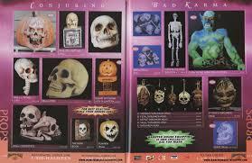 1996 halloween outlet catalog part 6 blood curdling blog of