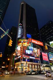 New York City Time Square Map by Hotels And Transportation Greater New York Dental Meeting