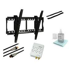 60 Inch Flat Screen Tv Wall Mount Atlantic Tilting Steel Wall Mount Kit For 37 In To 70 In Flat