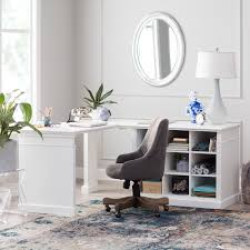 white desk on hayneedle corner white desk