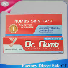 oem 30g dr numb anaesthetic numb pain killer cream pain relief