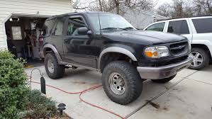 Ford Explorer Lifted - finally got my 2 inch body lift on fordexplorer