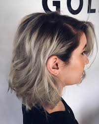 how to achieve dark roots hair style 50 fantastic silver ombre hair ideas precious locks colors