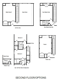 dual master bedroom floor plans emerson floor plan at avalon at riverstone 60s in sugar land tx