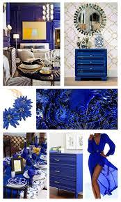 cobalt blue mountain home decor