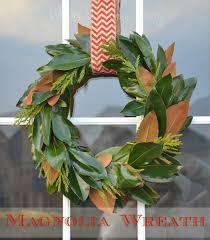 magnolia leaf wreath magnolia wreath whats ur home story