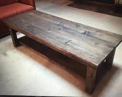 Rustic Iron Coffee Table Rustic Coffee Table Etsy