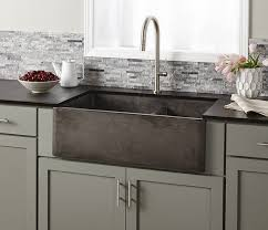 farm apron sinks kitchens farmhouse apron kitchen sinks the home depot with regard to awesome