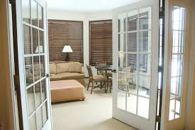 Interior French Doors With Blinds - living room interior french doors divide rooms with french doors