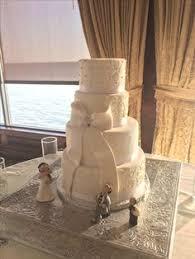 mint green and peach wedding cake wedding cakes pinterest