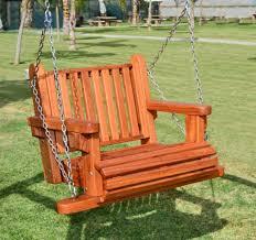 hanging garden chairs wooden swing seats garden furniture outdoor