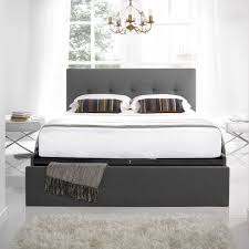 bed frames wooden metal fabric u0026 leather carpetright