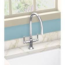 Kohler Single Hole Kitchen Faucet by Kohler K 7341 4 Bs Hirise Brushed Stainless Steel Two Handle