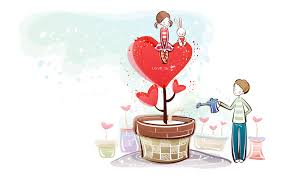 the first series of valentine u0027s day cartoon 377 cartoon vector