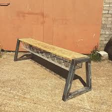 Industrial Style Bench Refunk U0027d Industrial Salvage Pop Up My Warehouse Home
