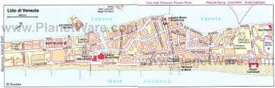 venice map 15 top tourist attractions in venice planetware