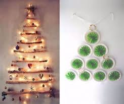 christmas design ideas 33 cool wall christmas tree ideas for your home
