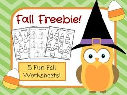 fall freebie 5 free fall worksheets by witty lessons tpt
