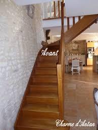 escalier peint 2 couleurs mon escalier repeint charme d u0027antan