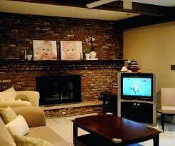 kitchen mantel ideas brick fireplace decor medium size of gallant living room in brick