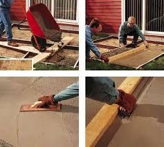 How To Cement A Patio Diy Concrete Patio How To Pour A Slab Bob Vila