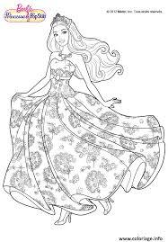 coloriage princesse barbie jecolorie com