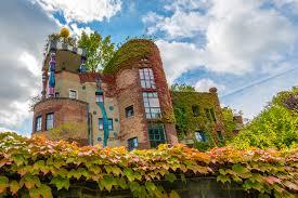 Bad S Hundertwasserhaus Bad Soden Autumn Friedensreich Hundertwasser