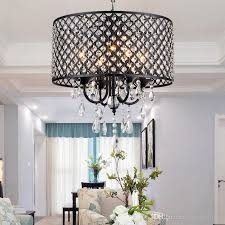 Crystal Drops For Chandeliers Modern Chandeliers With 4 Lights Pendant Light With Crystal Drops