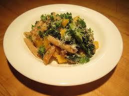 butternut squash kale sausage pasta the lemon bowl