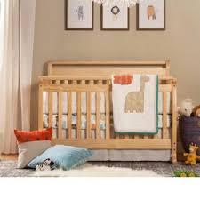 Emily 4 In 1 Convertible Crib Honey Oak Cribs Wayfair