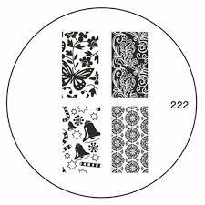original moyou nail art image stamp stamping plate manicure design