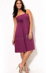 strapless dress plus size pluslook eu collection
