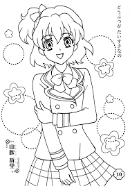 fresh pretty cure coloring pages precure pinterest pretty